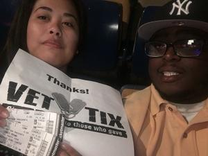 Robert attended Chris Brown the Party Tour With 50 Cent, Fabolous, O.t Genasis and Kap G on Apr 13th 2017 via VetTix