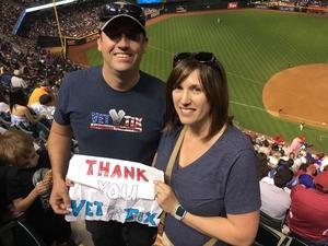 Jared attended Arizona Diamondbacks vs. Los Angeles Dodgers - MLB on Apr 22nd 2017 via VetTix