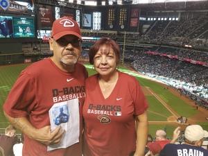 Francisco attended Arizona Diamondbacks vs. Los Angeles Dodgers - MLB on Apr 22nd 2017 via VetTix