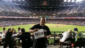 Shawn attended Arizona Diamondbacks vs. Los Angeles Dodgers - MLB on Apr 22nd 2017 via VetTix