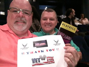 Stephen attended Dreamgirls - Sunday Evening on Apr 16th 2017 via VetTix