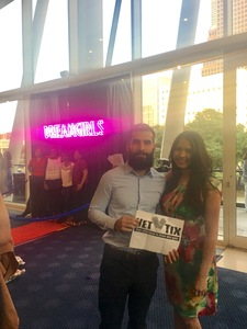 Cesar attended Dreamgirls - Sunday Evening on Apr 16th 2017 via VetTix