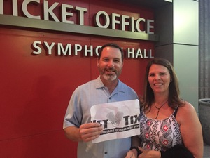 David attended Big Bad Voodoo Daddy - Friday on Apr 14th 2017 via VetTix