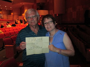 Robert attended Big Bad Voodoo Daddy - Saturday Matinee Show on Apr 15th 2017 via VetTix