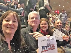 CindyEW attended Bon Jovi - This House Is Not for Sale Tour on Apr 13th 2017 via VetTix