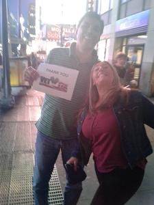 michael attended Bon Jovi - This House Is Not for Sale Tour on Apr 13th 2017 via VetTix