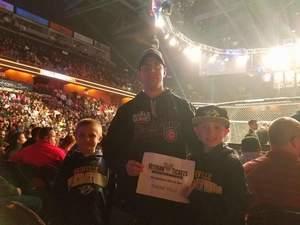 Matthew attended Bellator 178 - Straus vs. Pitbull 4 - Presented by Bellator MMA - Mixed Martial Arts on Apr 21st 2017 via VetTix