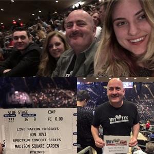 chris attended Bon Jovi - This House Is Not for Sale Tour on Apr 15th 2017 via VetTix