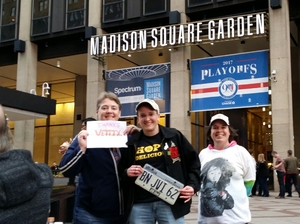Susan attended Bon Jovi - This House Is Not for Sale Tour on Apr 15th 2017 via VetTix