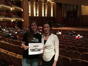 Angel attended Leif Ove Andsnes and Marc - Andre Hamelin Distinguished Artist Series - Presented by the Seattle Symphony on Apr 24th 2017 via VetTix