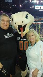 Eddie attended Arizona Rattlers vs. Spokane Empire - IFL on Apr 22nd 2017 via VetTix