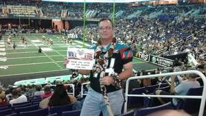 Mike  Jr attended Arizona Rattlers vs. Spokane Empire - IFL on Apr 22nd 2017 via VetTix