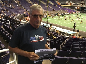 William attended Arizona Rattlers vs. Spokane Empire - IFL on Apr 22nd 2017 via VetTix