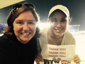 Christina attended Atlanta Braves vs. Toronto Blue Jays - MLB on May 18th 2017 via VetTix