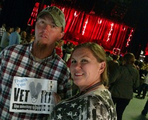 Cody attended Billy Currington - Stay Up Til' the Sun Tour - General Admission (standing Room Only) on Apr 21st 2017 via VetTix