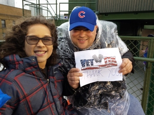 Christopher attended Chicago Cubs vs. Philadelphia Phillies - MLB - Military Appreciation Night on May 1st 2017 via VetTix