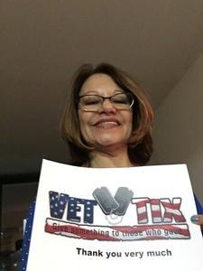 Diane attended Indecent on Apr 19th 2017 via VetTix