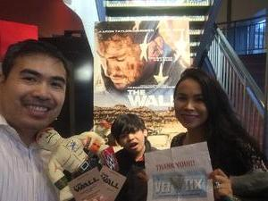 Jubbie attended The Wall - World Premier With John Cena and Aaron Taylor - Johnson on Apr 27th 2017 via VetTix