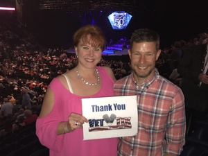 Janet attended Neil Diamond - 50 Year Anniversary World Tour - Live! on Apr 19th 2017 via VetTix