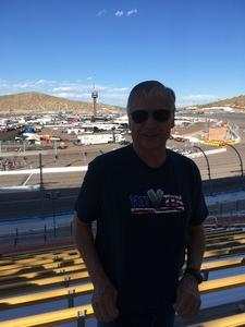 William attended Desert Diamond West Valley Phoenix Grand Prix - Indycar Series on Apr 29th 2017 via VetTix