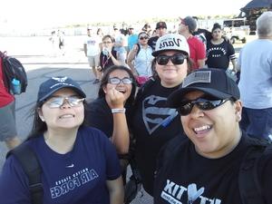 Christina attended Desert Diamond West Valley Phoenix Grand Prix - Indycar Series on Apr 29th 2017 via VetTix