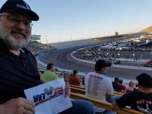 Christopher attended Desert Diamond West Valley Phoenix Grand Prix - Indycar Series on Apr 29th 2017 via VetTix