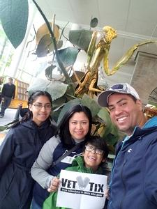 joel attended Pacific Science Center on May 14th 2017 via VetTix