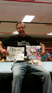 Bill Gronos attended Texoma Pro 9 Year Anniversary Featuring the Barbarian! - Live Wrestling on Apr 21st 2017 via VetTix