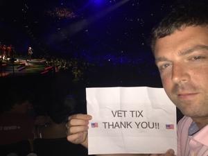Matthew attended Neil Diamond - the 50 Year Anniversary World Tour on Apr 23rd 2017 via VetTix