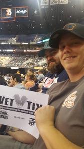 Stephen attended Arizona Rattlers vs. Green Bay Blizzard - IFL on Apr 29th 2017 via VetTix