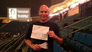 Tommy attended Daryl Hall and John Oates With Tears for Fears on May 4th 2017 via VetTix