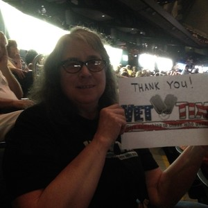 Irma attended Neil Diamond - the 50 Year Anniversary World Tour on Apr 30th 2017 via VetTix