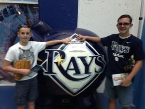 Nathaniel attended Tampa Bay Rays vs. Kansas City Royals - MLB on May 9th 2017 via VetTix
