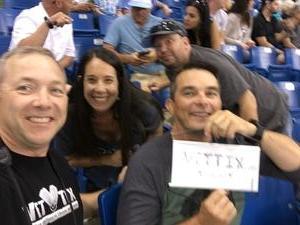 Todd attended Tampa Bay Rays vs. Kansas City Royals - MLB on May 9th 2017 via VetTix