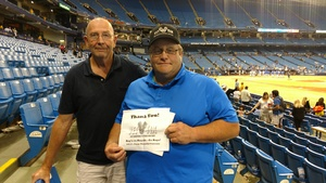 Bob attended Tampa Bay Rays vs. Kansas City Royals - MLB on May 9th 2017 via VetTix