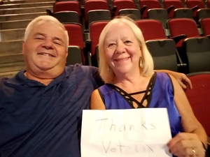 Elmer attended Zac Brown Band - Welcome Home Tour on May 4th 2017 via VetTix