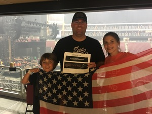 Keith attended Zac Brown Band - Welcome Home Tour on May 4th 2017 via VetTix