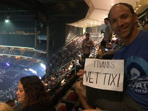 Paul attended Zac Brown Band - Welcome Home Tour on May 4th 2017 via VetTix