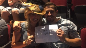 COTY attended Zac Brown Band - Welcome Home Tour on May 4th 2017 via VetTix