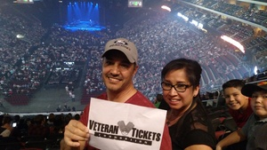 Allen attended Zac Brown Band - Welcome Home Tour on May 4th 2017 via VetTix