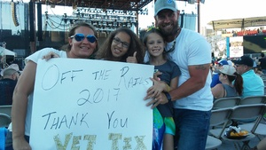 Kevin Foster attended Bud Light's Off the Rails Music Festival - Tickets Good for Sunday Only on May 7th 2017 via VetTix