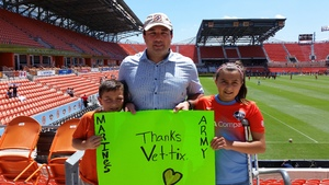 David attended Houston Dash vs. Sky Blue FC - National Womens Soccer League on May 13th 2017 via VetTix