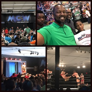 Roland attended Second Annual Slamboree - Presented by Maryland Championship Wrestling on Jun 9th 2017 via VetTix