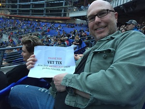 Thomas attended Metallica Worldwired Tour With Special Guest Avenged Sevenfold With Volbeat on May 10th 2017 via VetTix