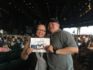 New attended Brad Paisley With Special Guest Dustin Lynch, Chase Bryant, and Lindsay Ell on May 19th 2017 via VetTix