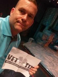 Cliff attended Urinetown, the Musical on Jun 4th 2017 via VetTix