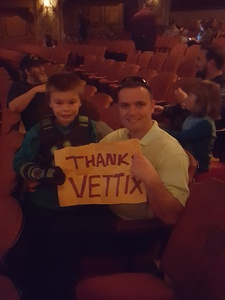 andrew attended The Wild Kratts Live - 1 Pm Show on May 20th 2017 via VetTix