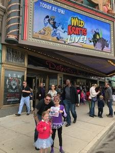 Eli attended The Wild Kratts Live - 1 Pm Show on May 20th 2017 via VetTix