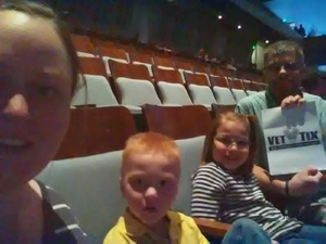 Tom attended The Wild Kratts Live on May 21st 2017 via VetTix