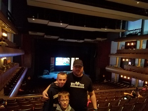 Ryan attended The Wild Kratts Live on May 21st 2017 via VetTix